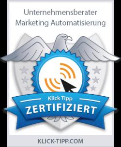 Klick-Tipp Zertifikat